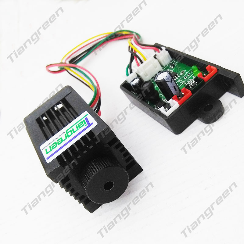 Tiangreen - 532nm 200mW Focusable Green Laser Module with