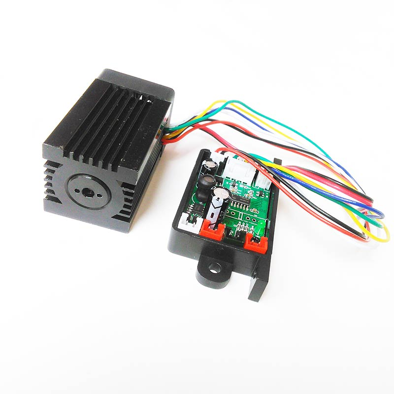 Tiangreen - 532nm 200mW Green Laser Module with TTL 12V Input